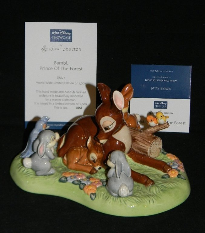 ROYAL DOULTON DISNEY PRINCE OF THE FOREST TABLEAU - 2