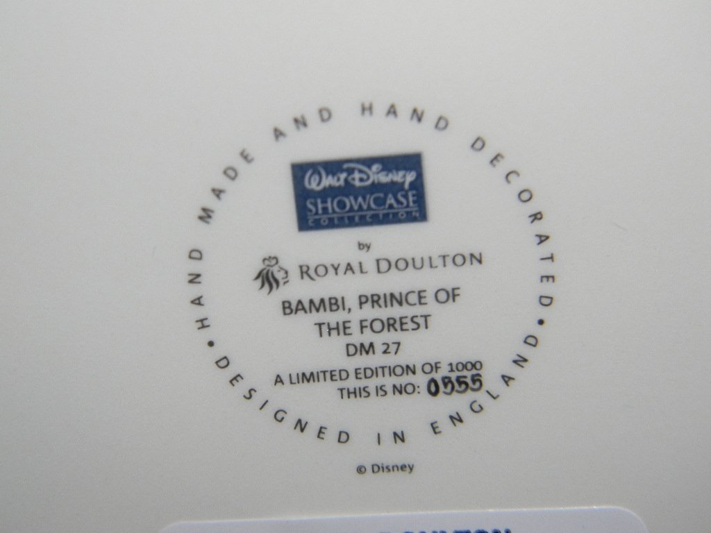 ROYAL DOULTON DISNEY PRINCE OF THE FOREST TABLEAU - 4