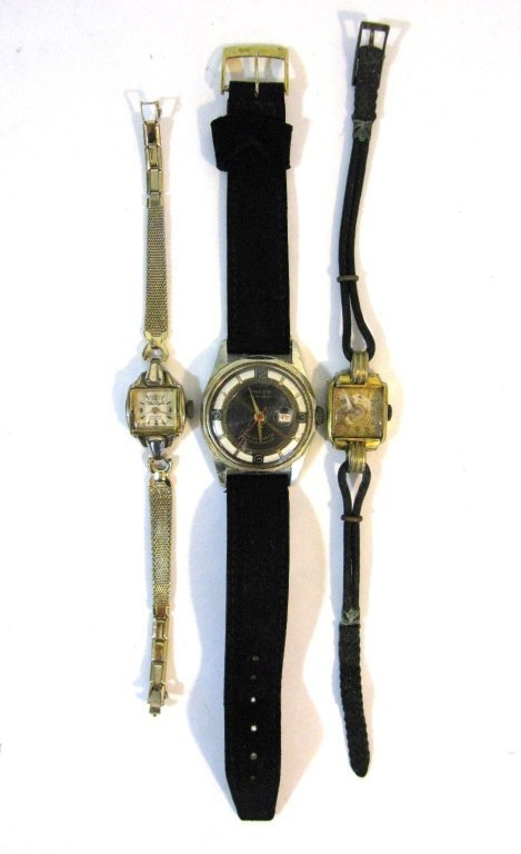 GROUP LOT OF VINTAGE GERMAN WATCHES