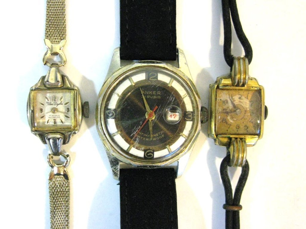 GROUP LOT OF VINTAGE GERMAN WATCHES - 2