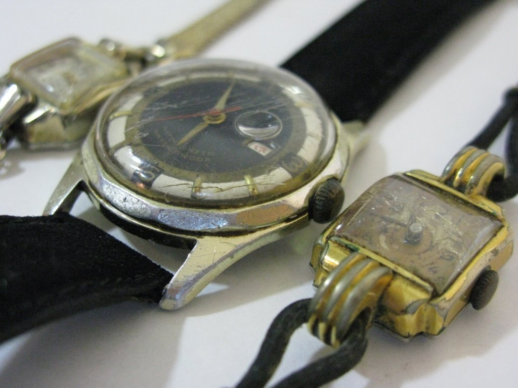 GROUP LOT OF VINTAGE GERMAN WATCHES - 5