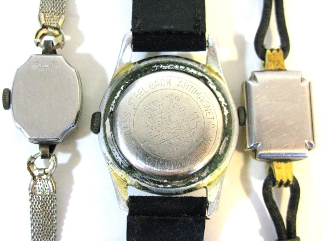 GROUP LOT OF VINTAGE GERMAN WATCHES - 6