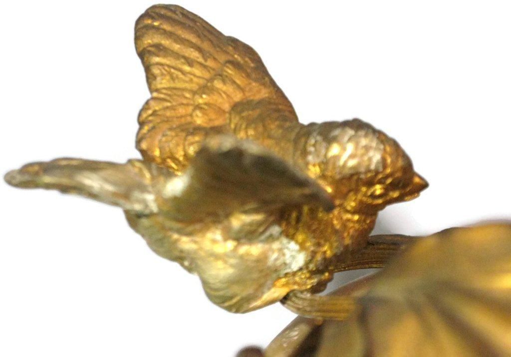 2 @ C. 1815 NAUTILUS SHELL & DORE BIRD COMPOTES - 5