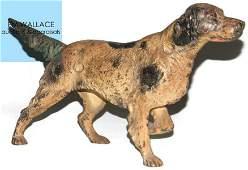 HUBLEY CAST IRON DOORSTOP IRISH SETTER DOG 347