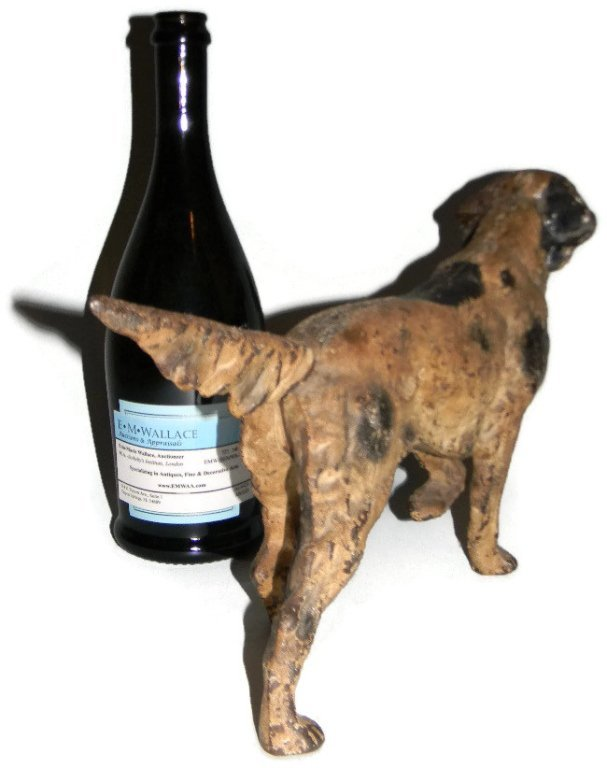 HUBLEY CAST IRON DOORSTOP IRISH SETTER DOG 347 - 3
