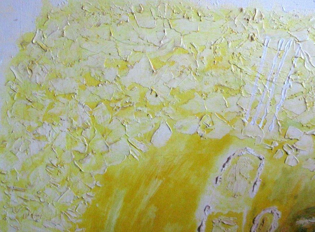 RICHARD BOWMAN ABSTRACT OIL ON CANVAS 1967 - 2