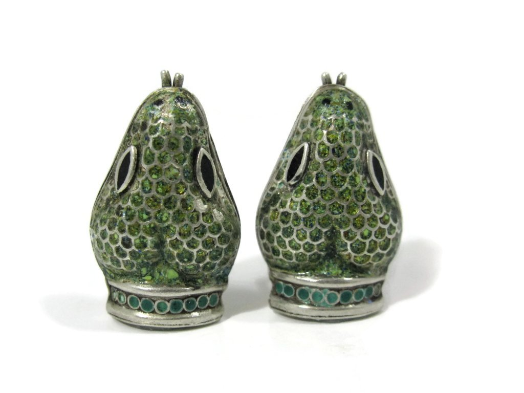 TAXCO MEXICO EARRINGS BY JAMIE QUIROZ - 2