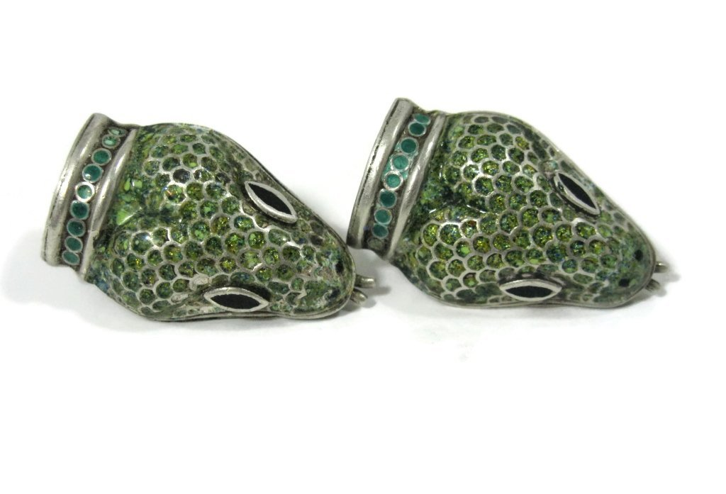 TAXCO MEXICO EARRINGS BY JAMIE QUIROZ - 3