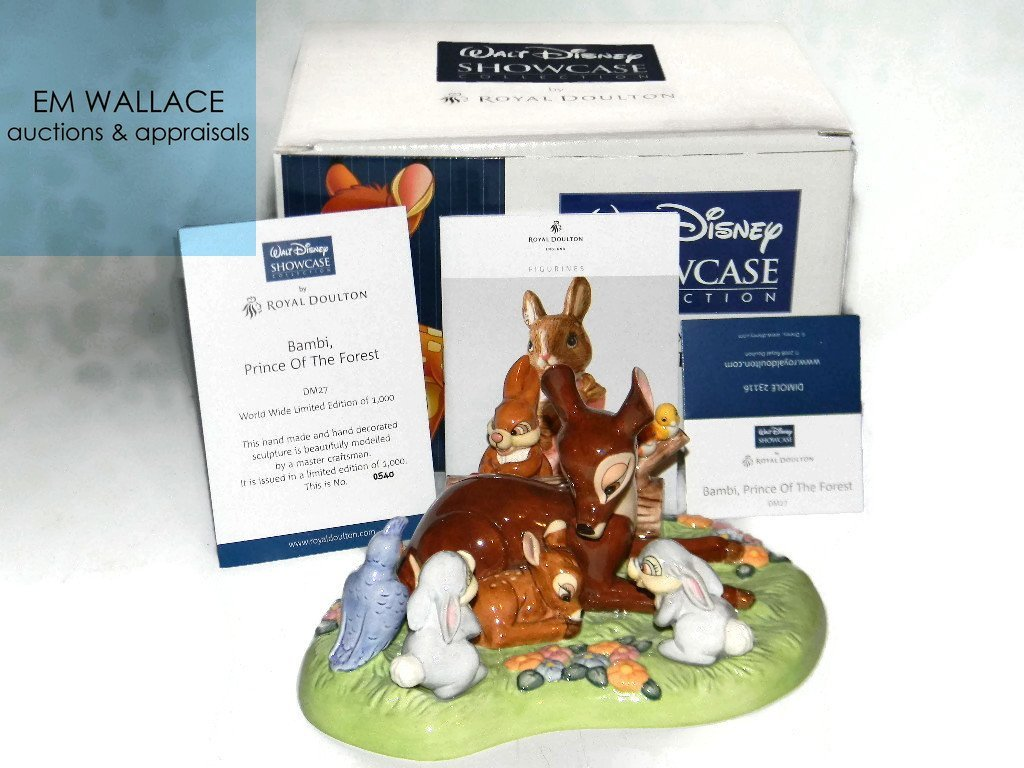 ROYAL DOULTON DISNEY PRINCE OF THE FOREST TABLEAU