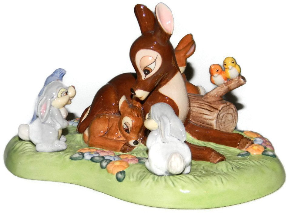 ROYAL DOULTON DISNEY PRINCE OF THE FOREST TABLEAU - 3