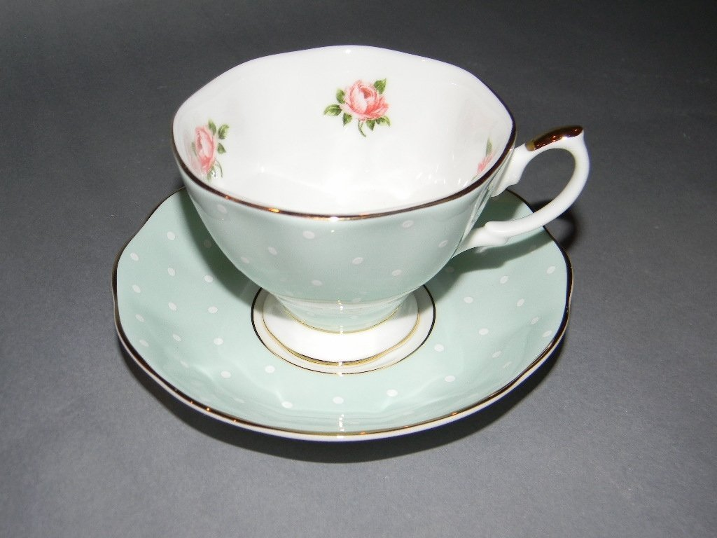 10 PC ROYAL ALBERT COMMEMORATIVE TEACUP SET - 3