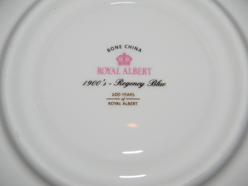10 PC ROYAL ALBERT COMMEMORATIVE TEACUP SET - 7