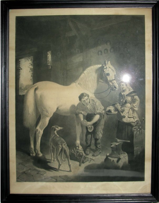 GEORGE PATTERSON EQUESTRIAN ENGRAVING