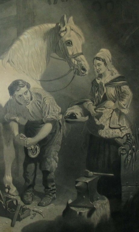 GEORGE PATTERSON EQUESTRIAN ENGRAVING - 2