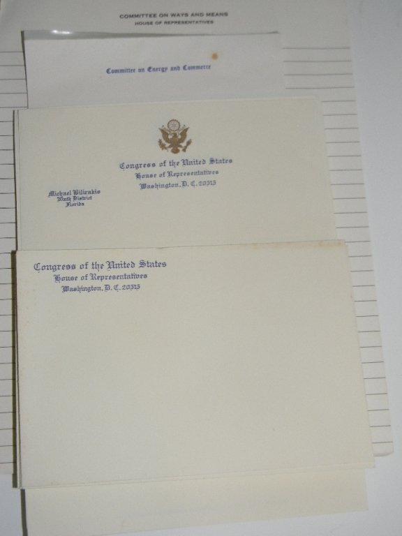 US HOUSE OF REPRESENTATIVES BLANK STATIONARY - 2