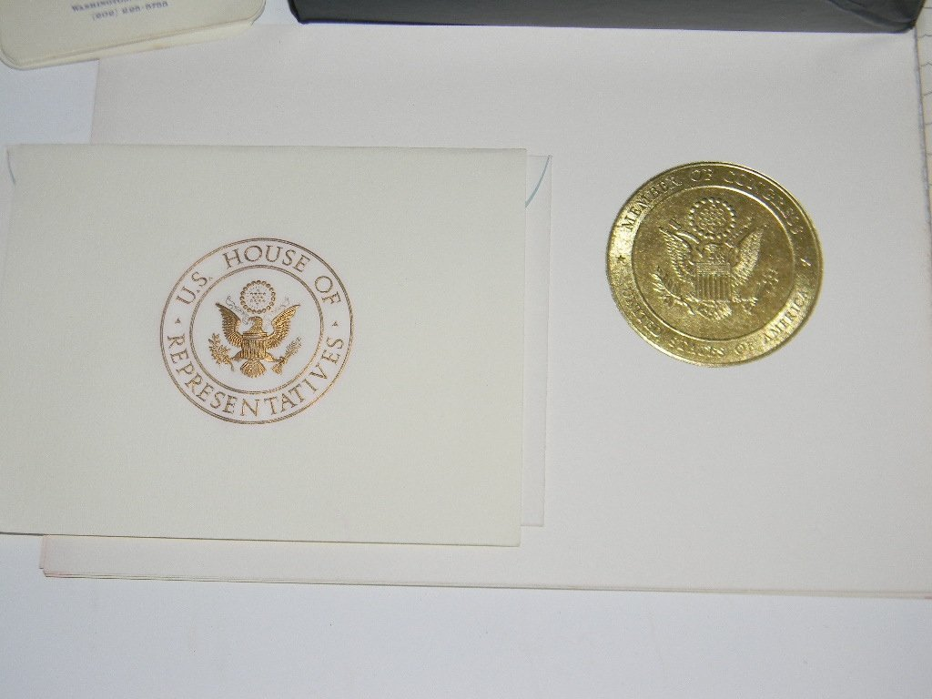 US HOUSE OF REPRESENTATIVES BLANK STATIONARY - 3
