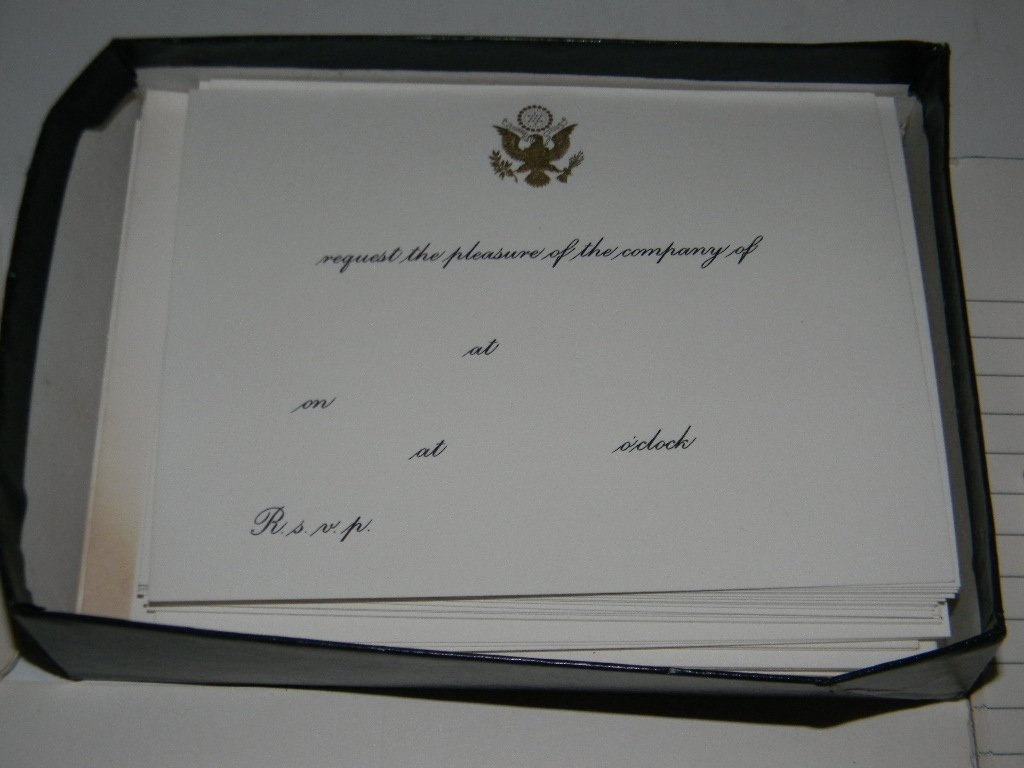 US HOUSE OF REPRESENTATIVES BLANK STATIONARY - 4