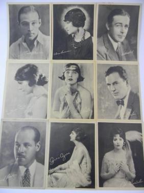 PROMO PHOTOS SILENT FILM ACTRESSES & ACTORS