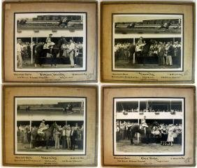 PHOTOGRAPHS HORSES & JOCKEYS AT OHIO, RANDALL PARK