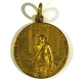 1910 MEXICO CENTENARY INDEPENDENCE MEDAL RICHARD DIENER