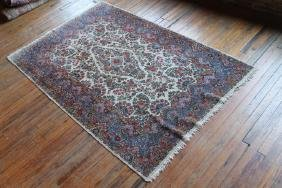 Vintage Persian Kerman Carpet
