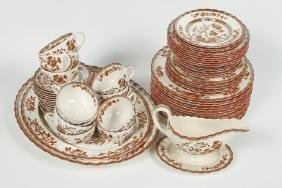 English Copeland Porcelain Dinner Service