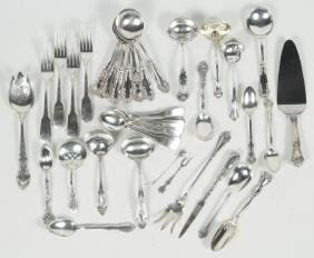Collection Sterling Flatware and Serving Pieces