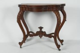 Southern Renaissance Walnut Games Table