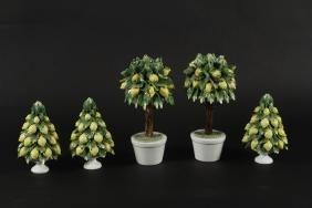 Collection Italian Capodimonte Majolica LemonTrees