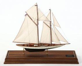 Very Fine American Cased Ship Model