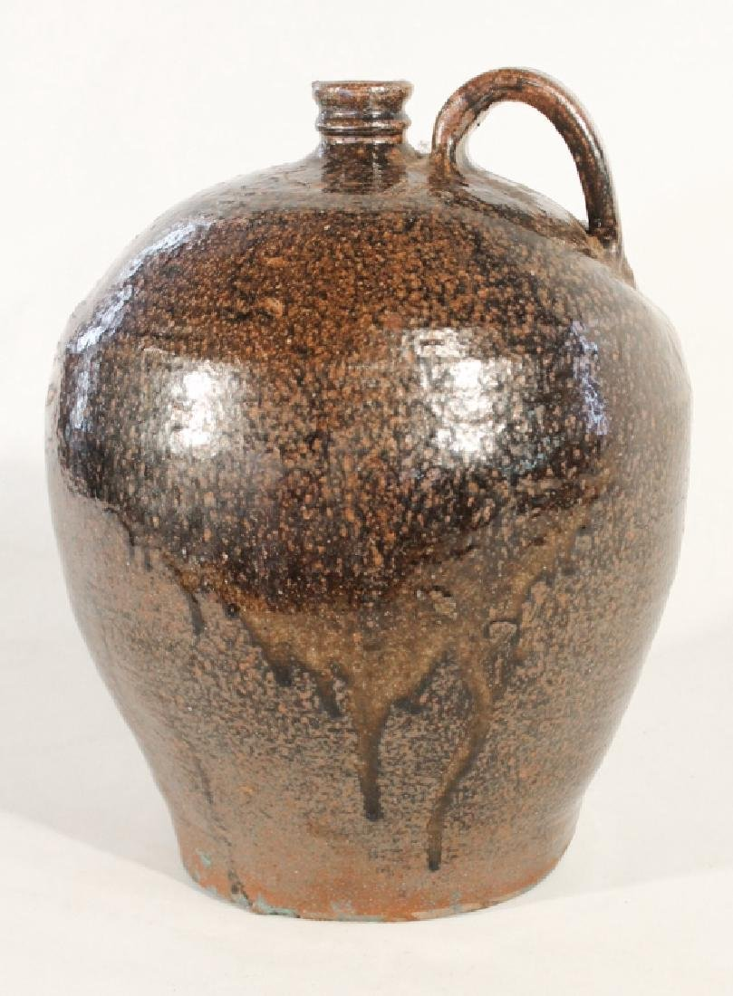 Exceptional Edgefield Stoneware Signed Dave Jug - 3