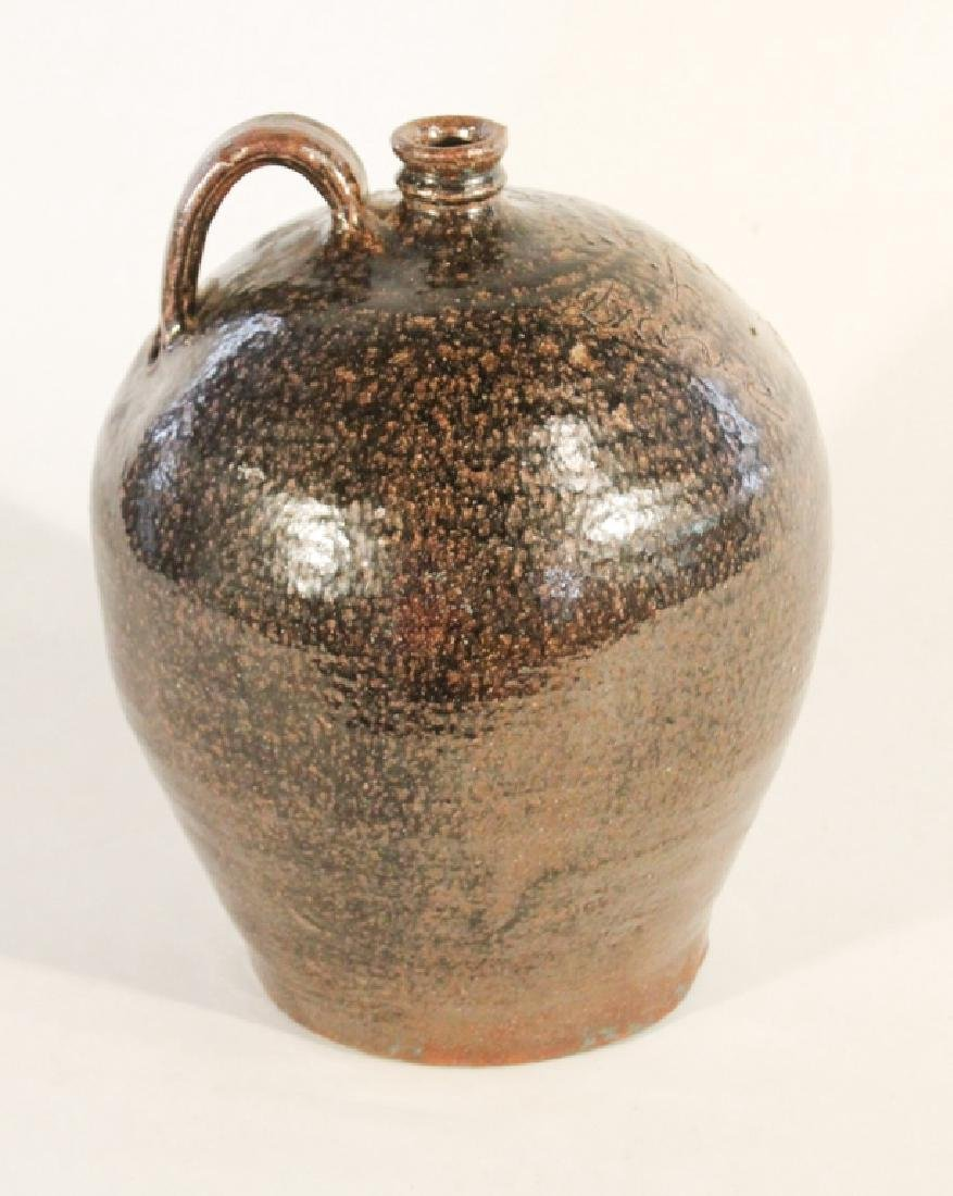 Exceptional Edgefield Stoneware Signed Dave Jug - 4