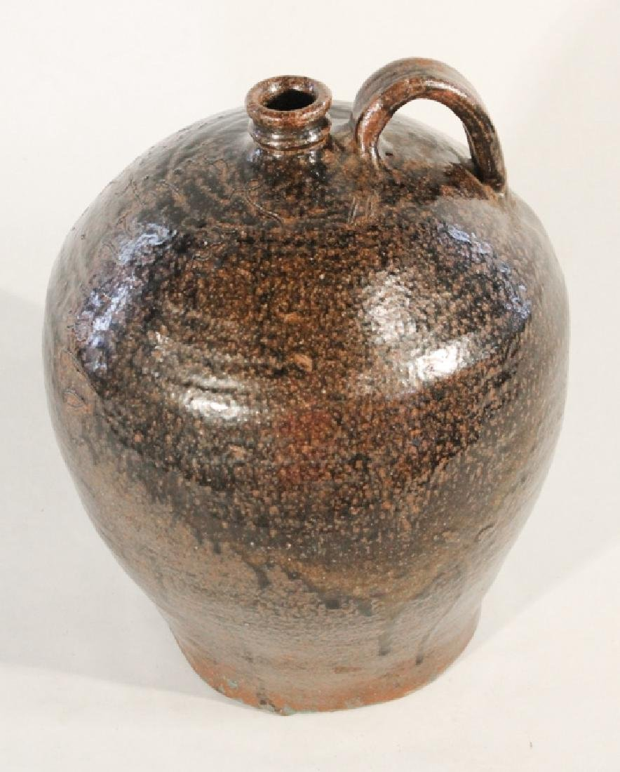 Exceptional Edgefield Stoneware Signed Dave Jug - 6