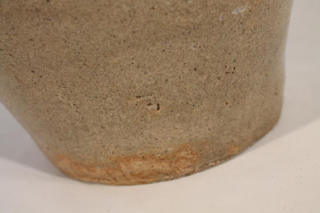 Fine Signed Southern Stoneware Storage Jar - 3