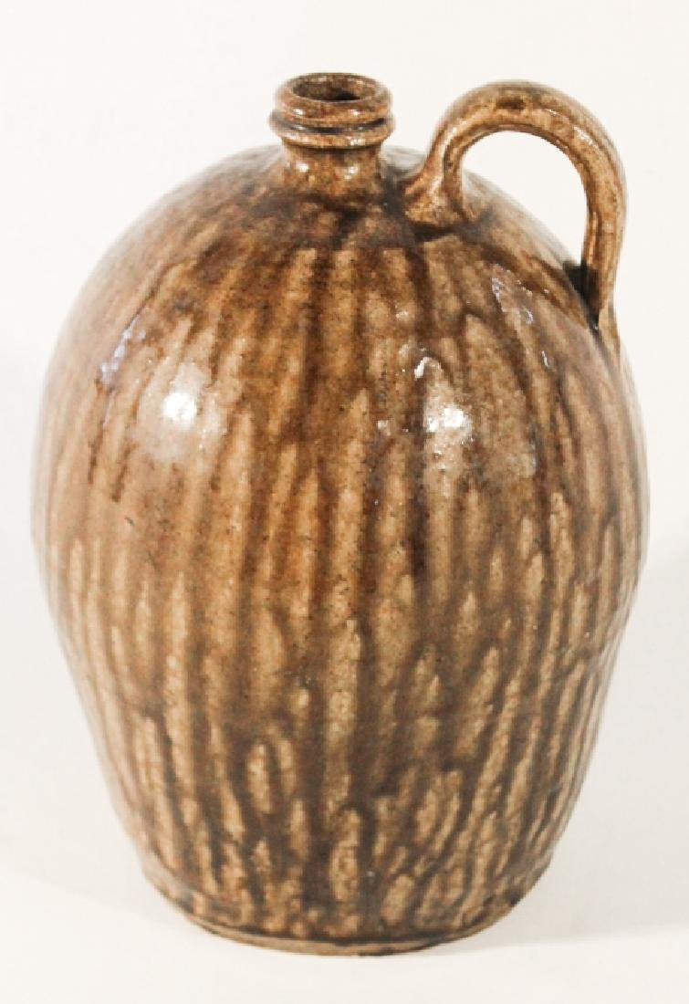 Exceptional Southern Stoneware Jug - 2