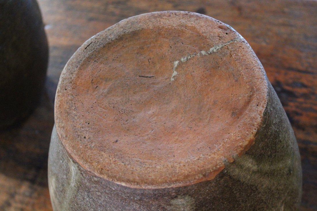 Southern Stoneware Storage Jar - 9