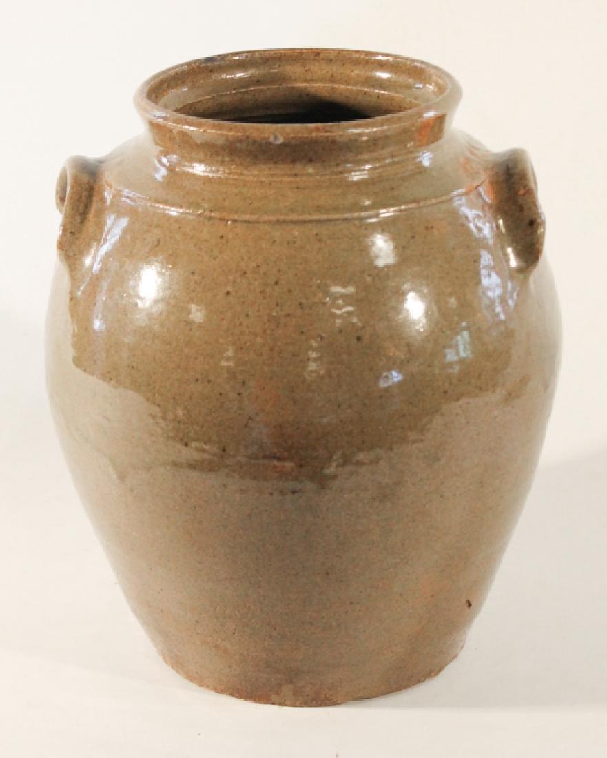 Southern Stoneware Storage Jar - 2