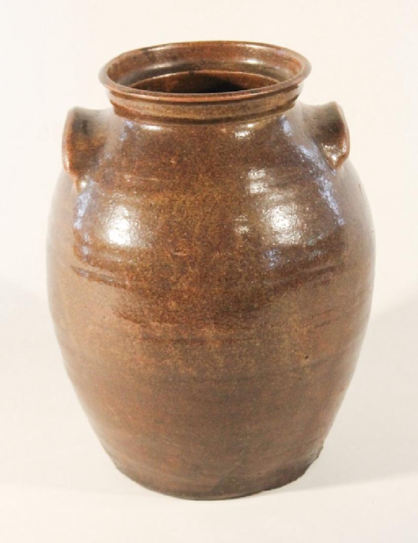 Southern Stoneware Storage Jar