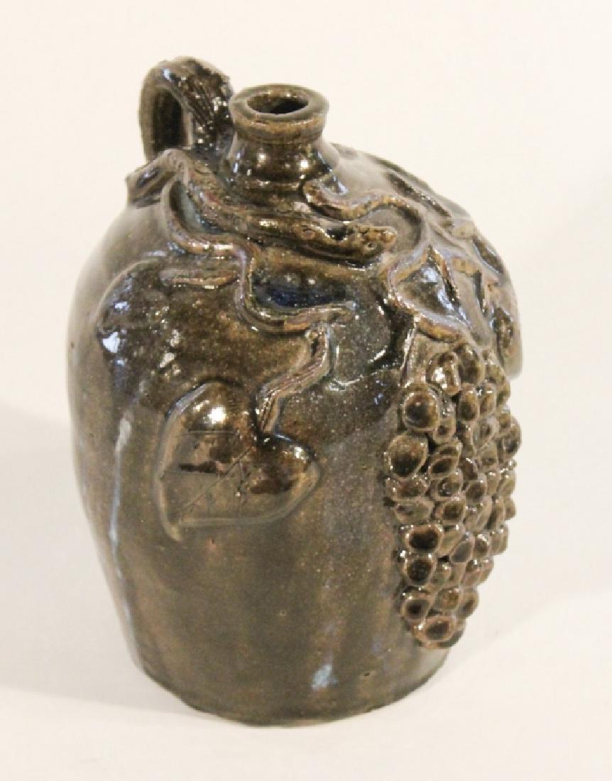 Southern Stoneware Figural Jug, Grace Neal Hewell