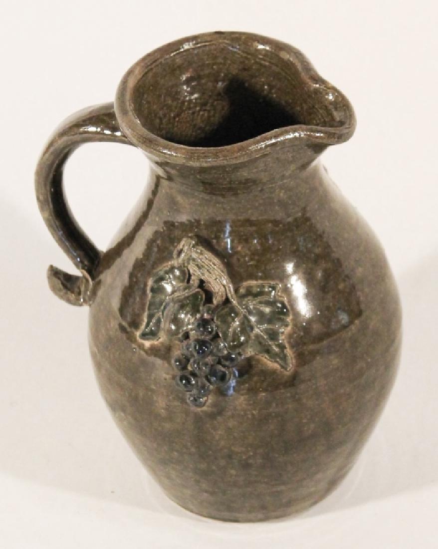 Southern Stoneware Figural Pitcher, Bobby Ferguson