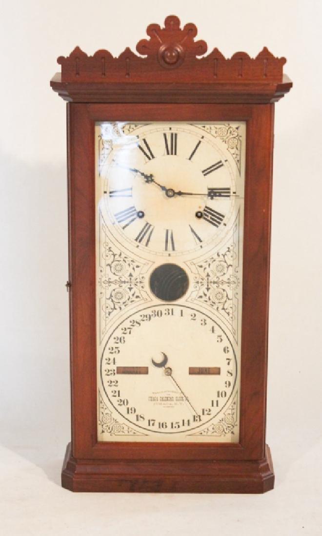 Ithaca Granger Model Calendar Clock