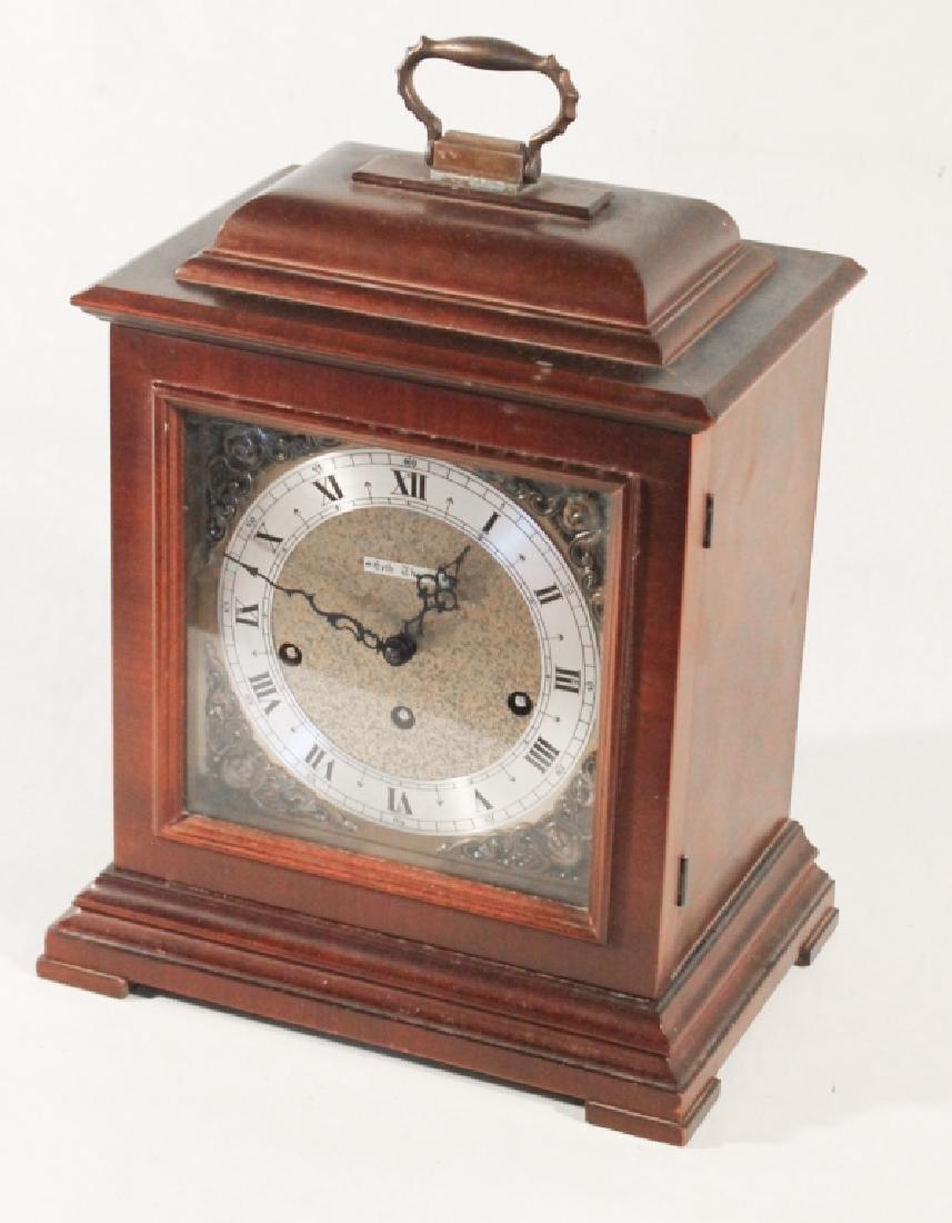 Seth Thomas Mahogany Bracket Clock