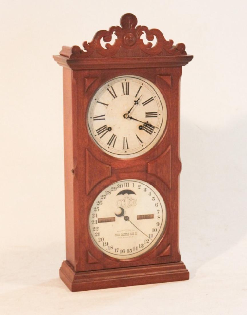 Ithaca Calendar Clock Farmer's Model