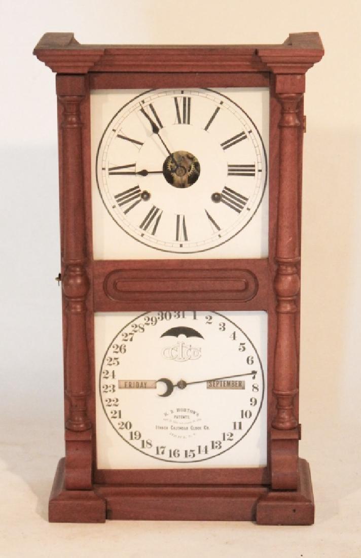Ithaca Early Farmer's Calendar Clock