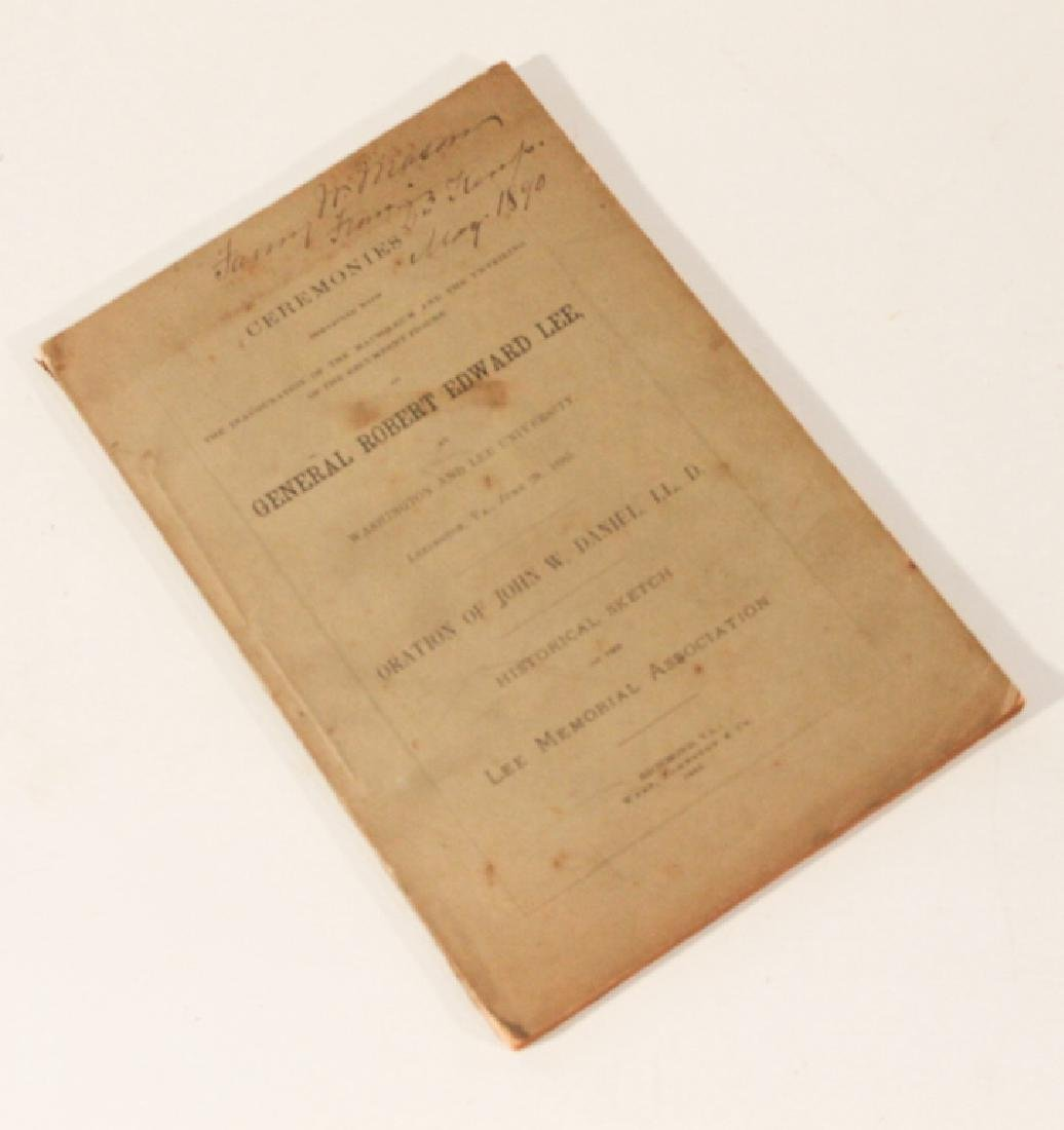 19th Century Pamphlet of Confederate Interest