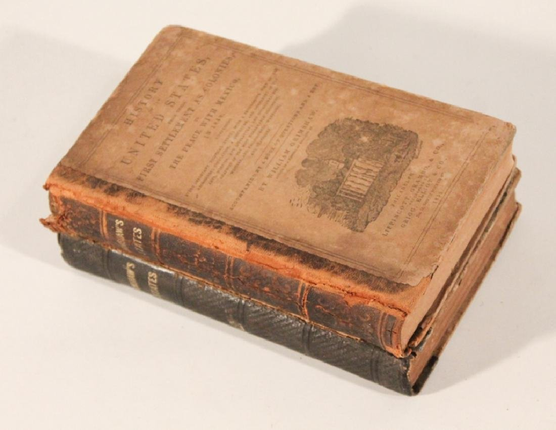 """Antique Books """"The History of the United Statesâ€"""