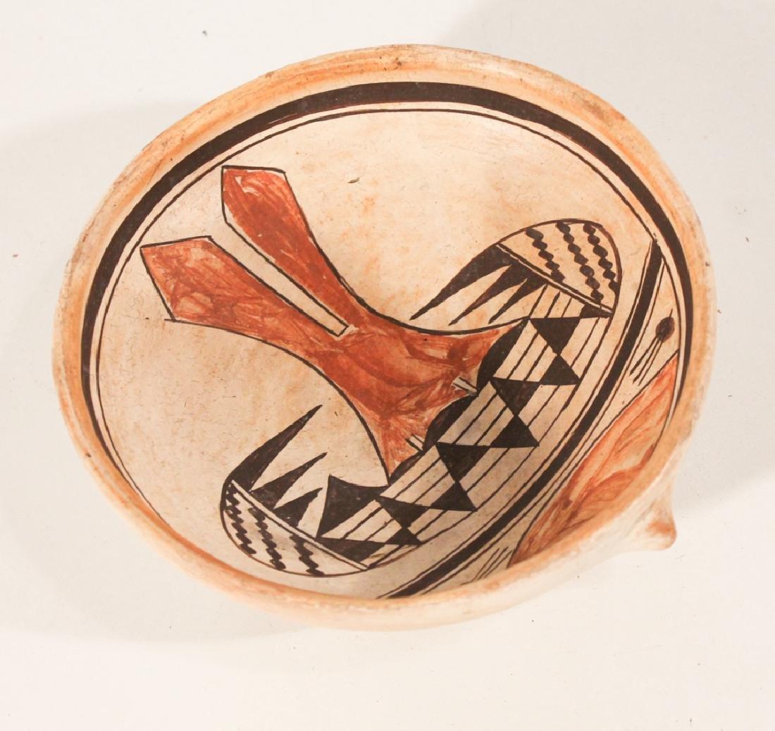 Vintage Hopi Indian Pottery Bowl