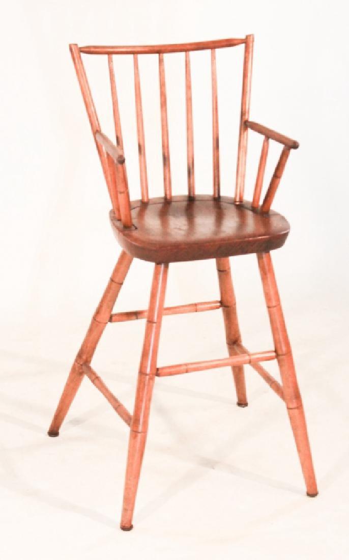 Vintage Custom Maple Childs Windsor Chair