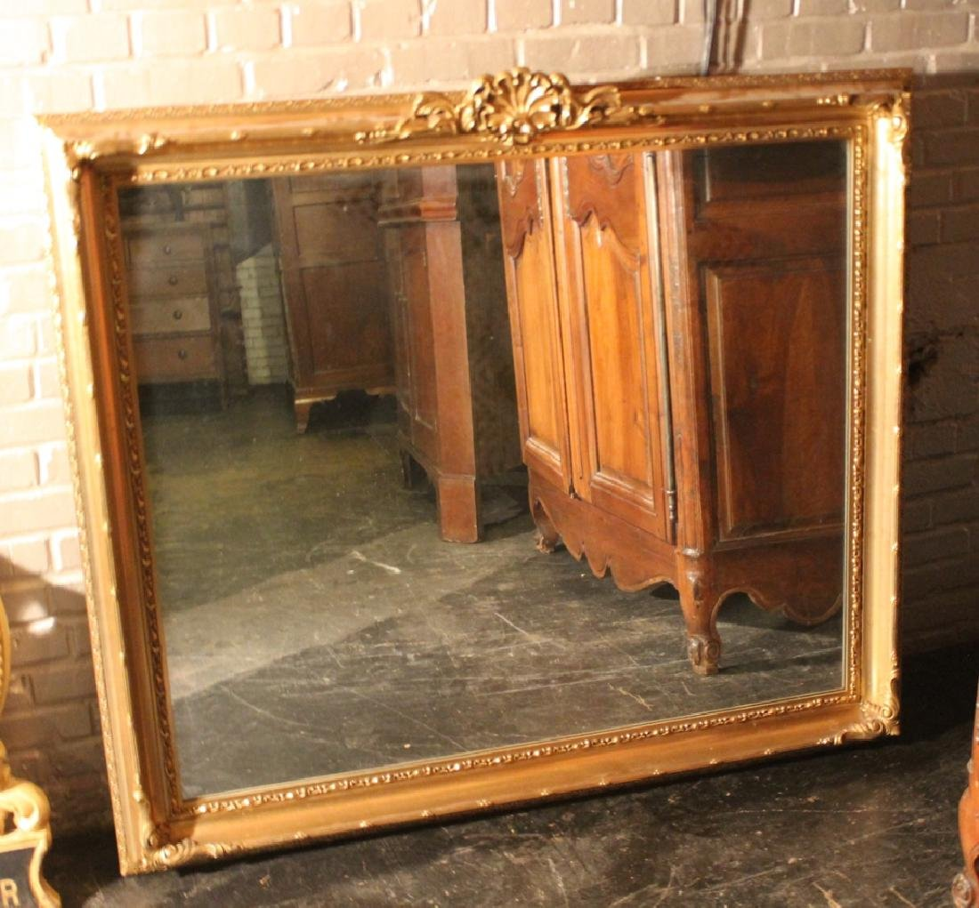 Chippendale Style Carved & Gilt Mirror