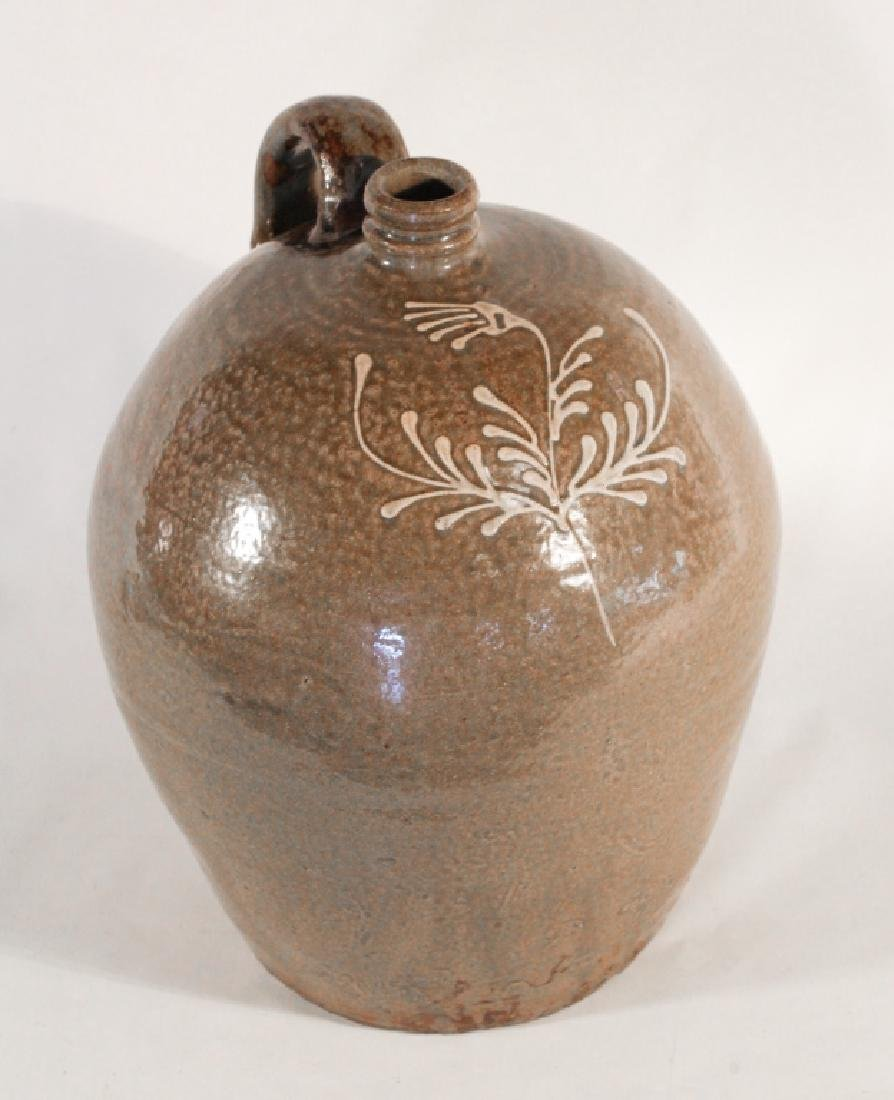 Excellent Southern Stoneware Decorated Jug